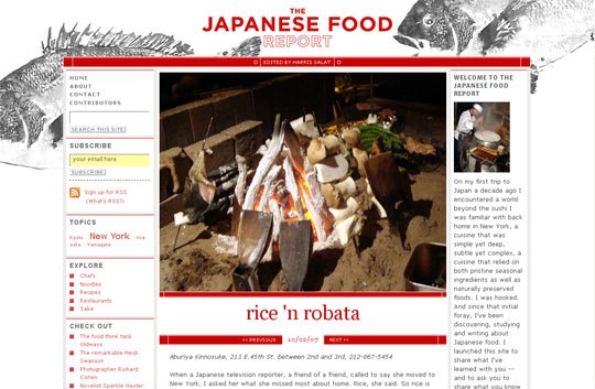 The Japanese Food Report