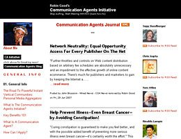 Communication Agents Journal :: Robin Good's Communication Agents Initiative Stop surfing, Start Making WAVES! (learn how to)