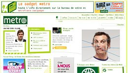 Metro France - Network of Blogs