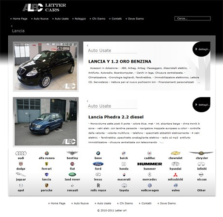 LetterCars.it Brand Page