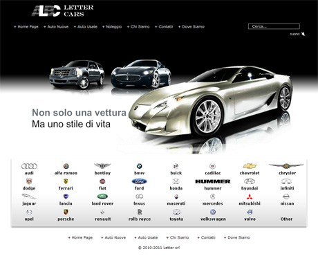 LetterCars.it Home Page