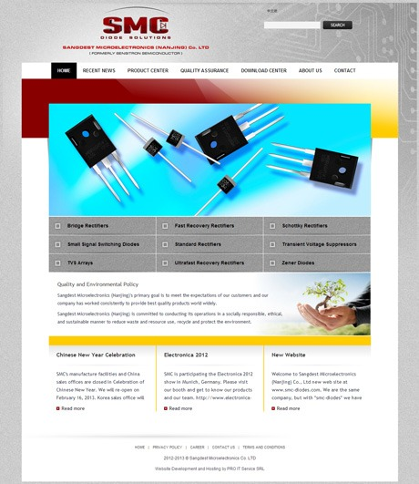 SMC Diodes - English Home Page