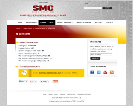 SMC Diodes - English Individual Product Page