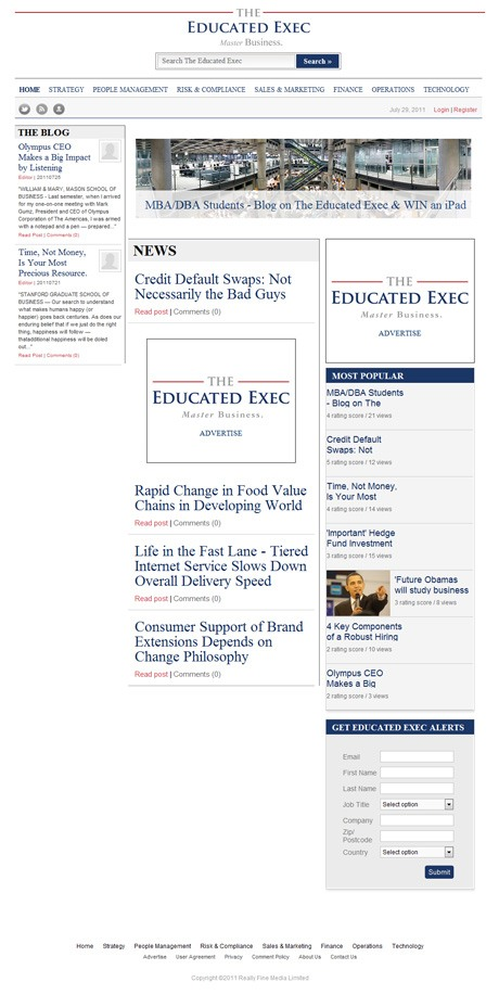 The Educated Exec Home Page