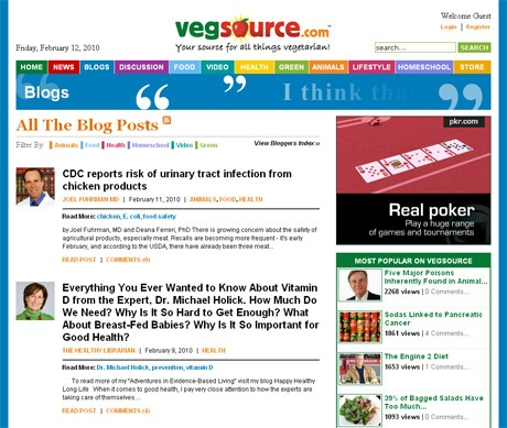 VegSource.com Blogs