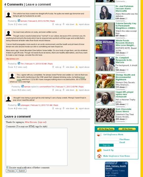 VegSource.com Comments