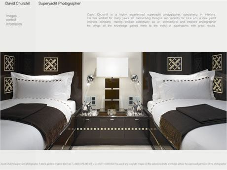 Superyacht Photographer Information Page