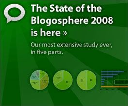 Technorati / State of the Blogosphere / 2008