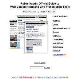 Robin Good's Official Guide to Web Conferencing and Live Presentation Tools